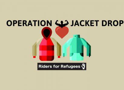 Giacche per i rifugiati in Grecia: il sogno di Riders For Refugees