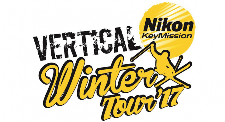 Nikon KeyMission Vertical Winter Tour: spettacolo adrenalinico in montagna